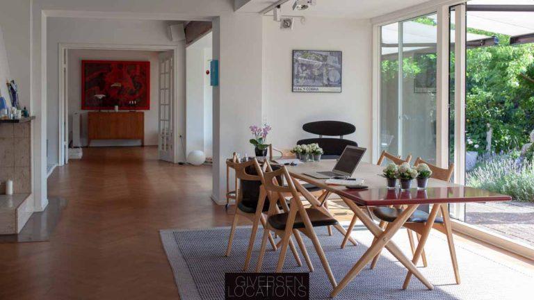 Dansk design og lyse stuer