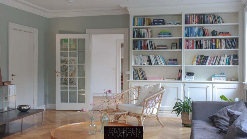 Lystte møbler og lyse farver