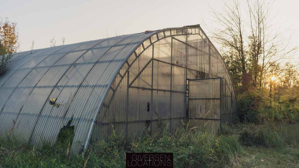 Forladt drivhus brugt som location til The Rain