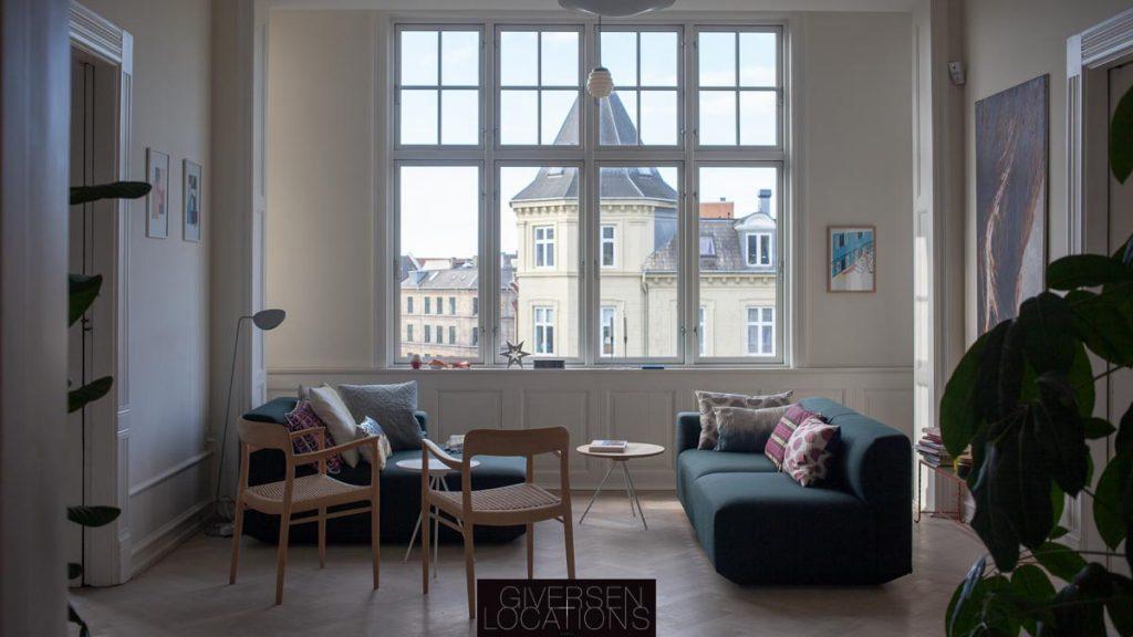 Herksabslejlighed med flot kig over Frederiksberg