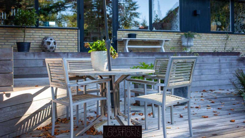 Dejlig terrasse i denne location