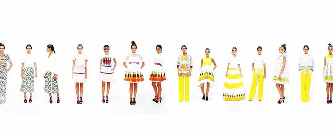 Alcuni abiti della collezione di Miahatami