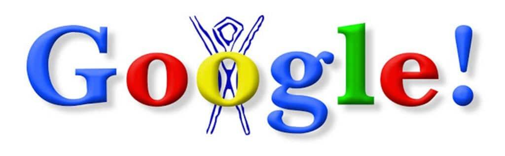 Primo Doodle realizzato da Google (1998)