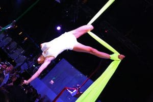 Party Night KIABI, 15 settembre 2016; Aerial Performance