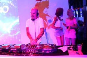 Party Night KIABI, 15 settembre 2016; DON JOE dei CLUB DOGO con Ema Stokholma e Ania J