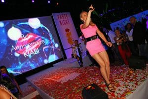 Party Night KIABI, 15 settembre 2016; Ania J di Fashion Tv