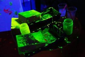 Party Night KIABI, 15 settembre 2016; colori fluo