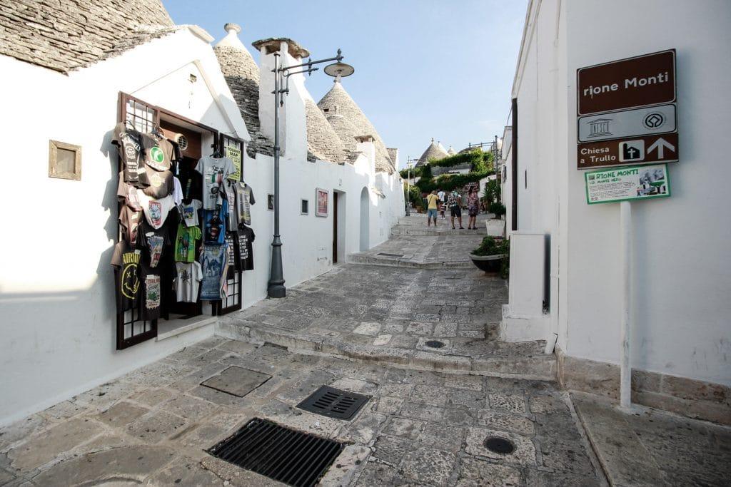 Accesso al Rione Monti da Largo Martellotta