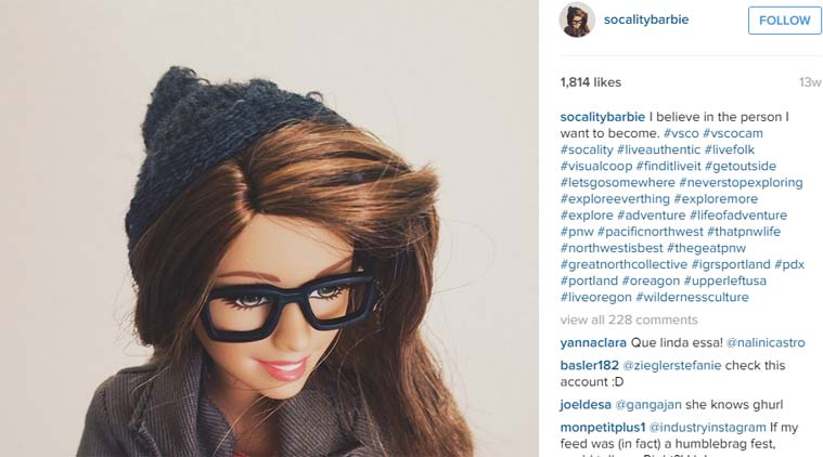 Dal profilo Instagram di Socality Barbie