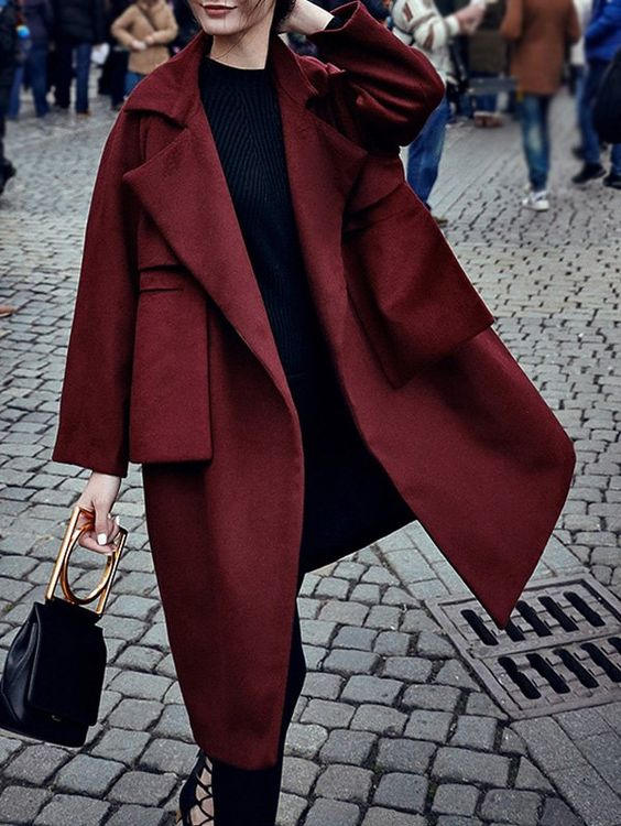 coat bordeaux