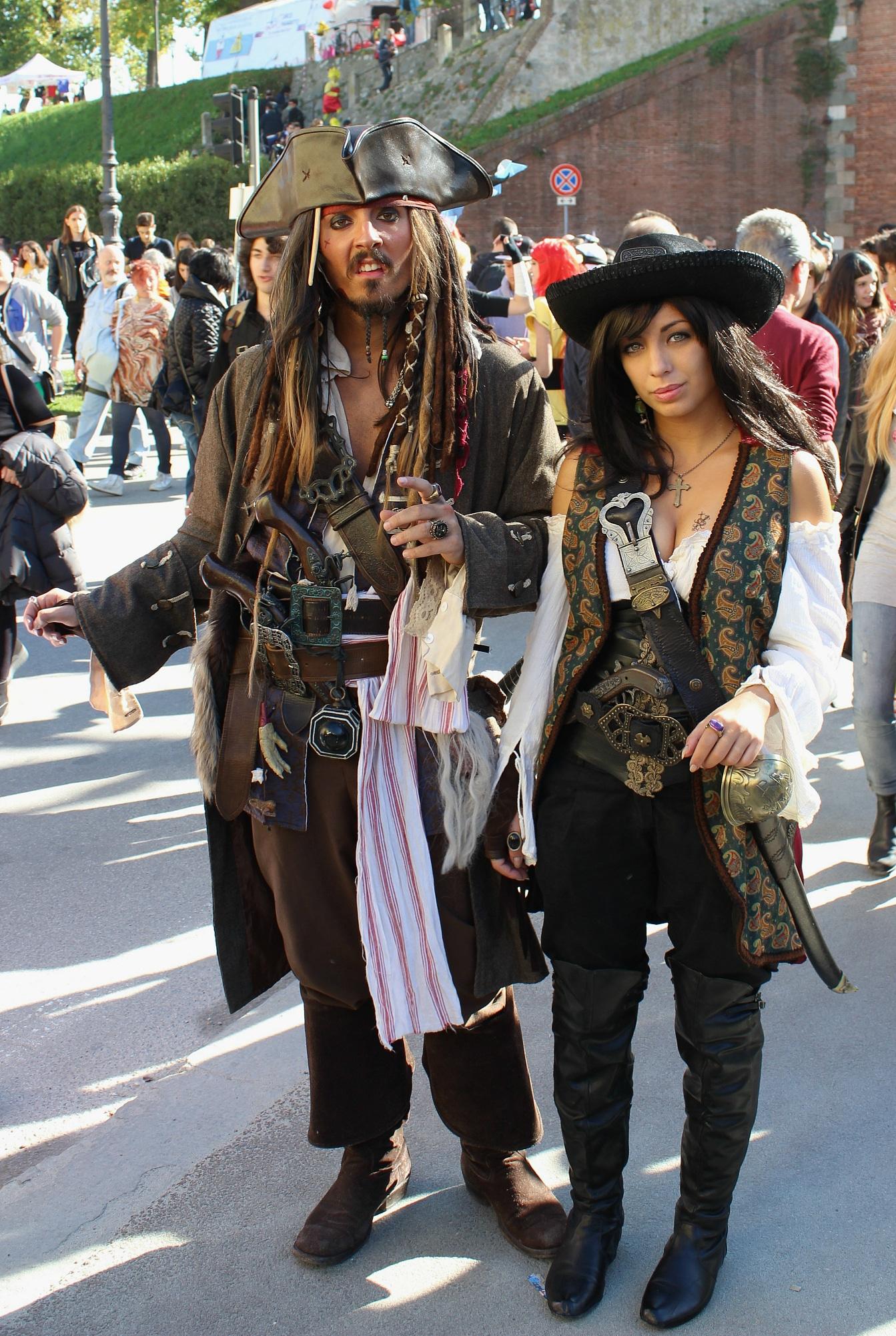 Cosplay Jack Sparrow.