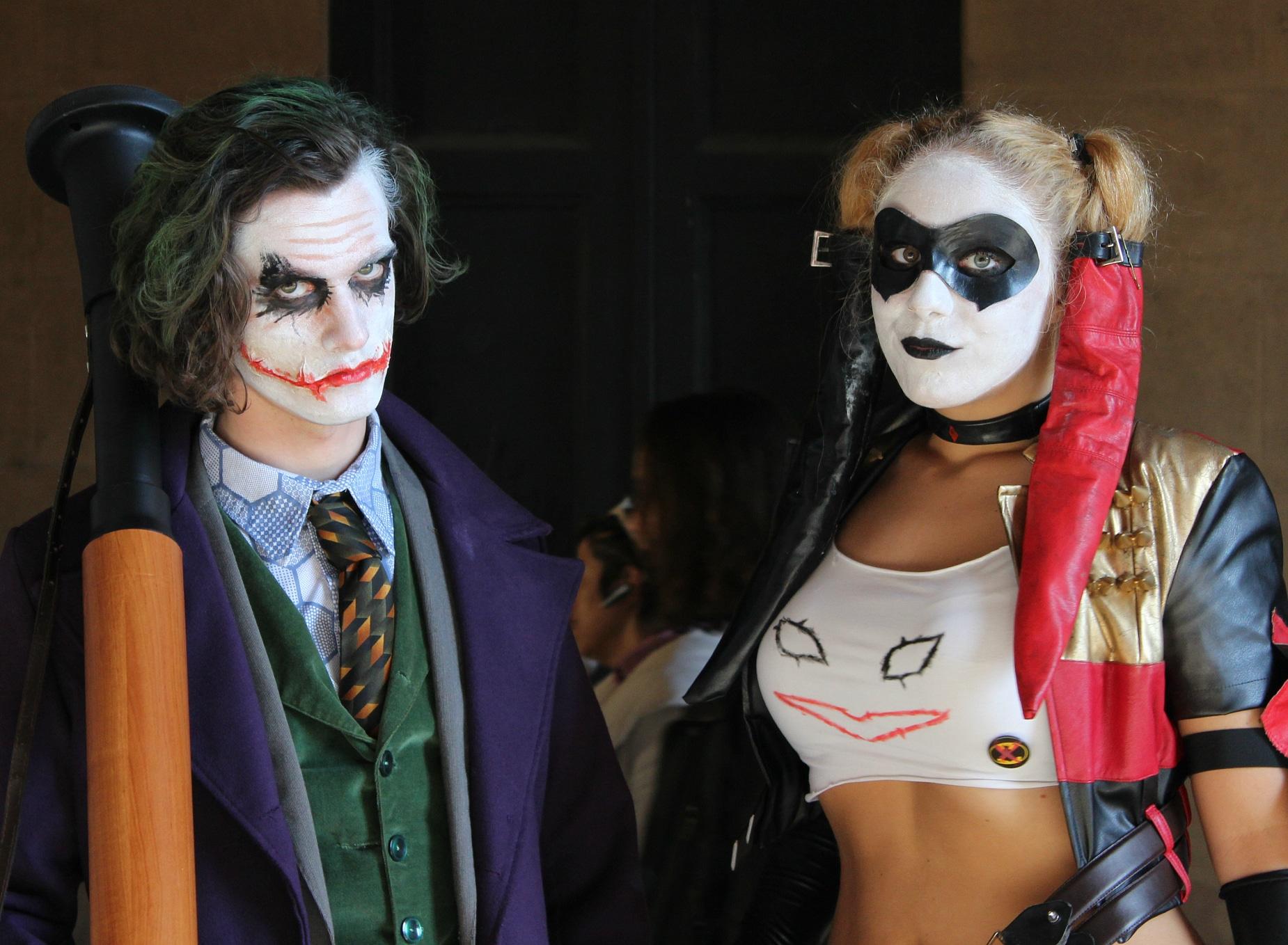 Cosplay Joker.