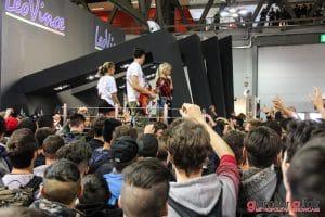 Eicma 2016, Milano Rho Fiera; Eicma girl; Stand LeoVince
