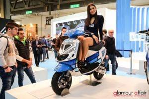 Eicma 2016, Milano Rho Fiera; Stand Polini; Eicma girl