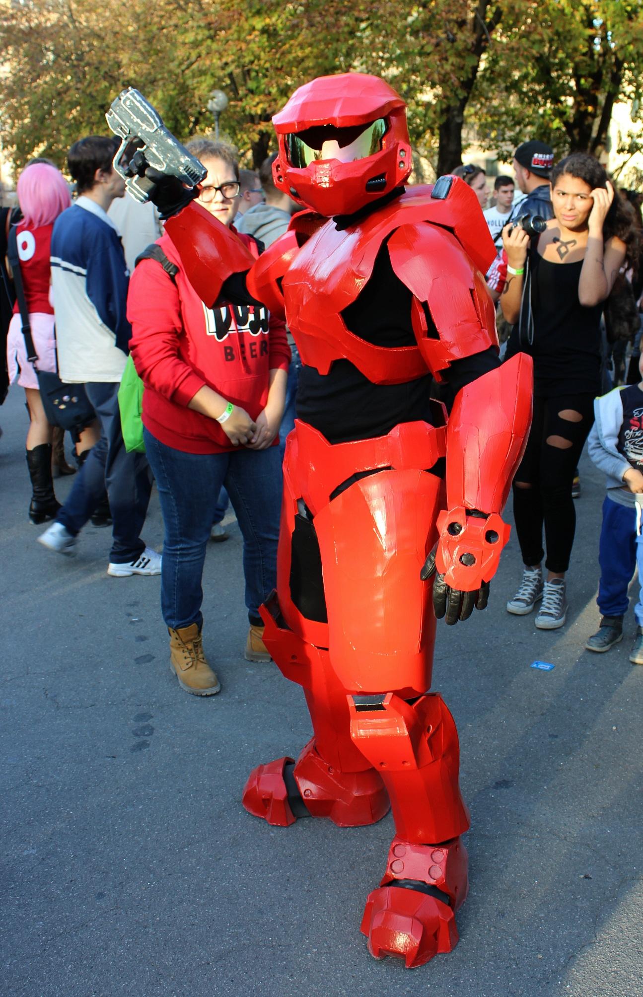 Lucca Comics cosplay.