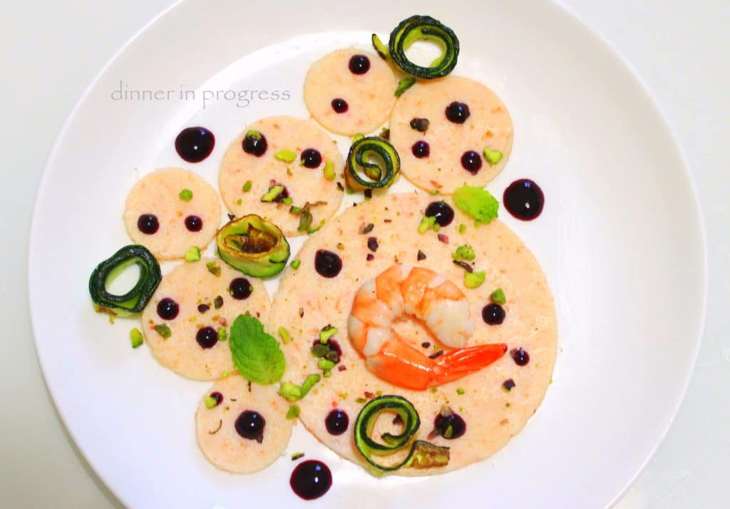gamberi-e-salsa-ai-mirtilli