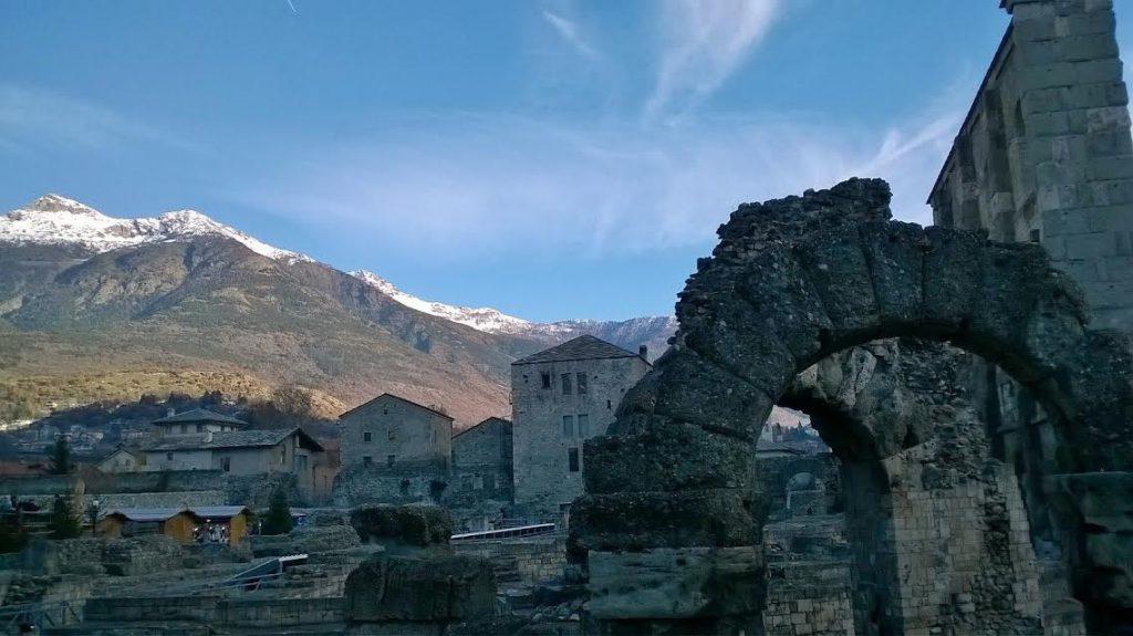 Aosta, rovine romane