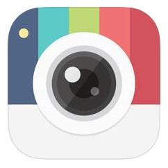 Candy Camera selfie app.