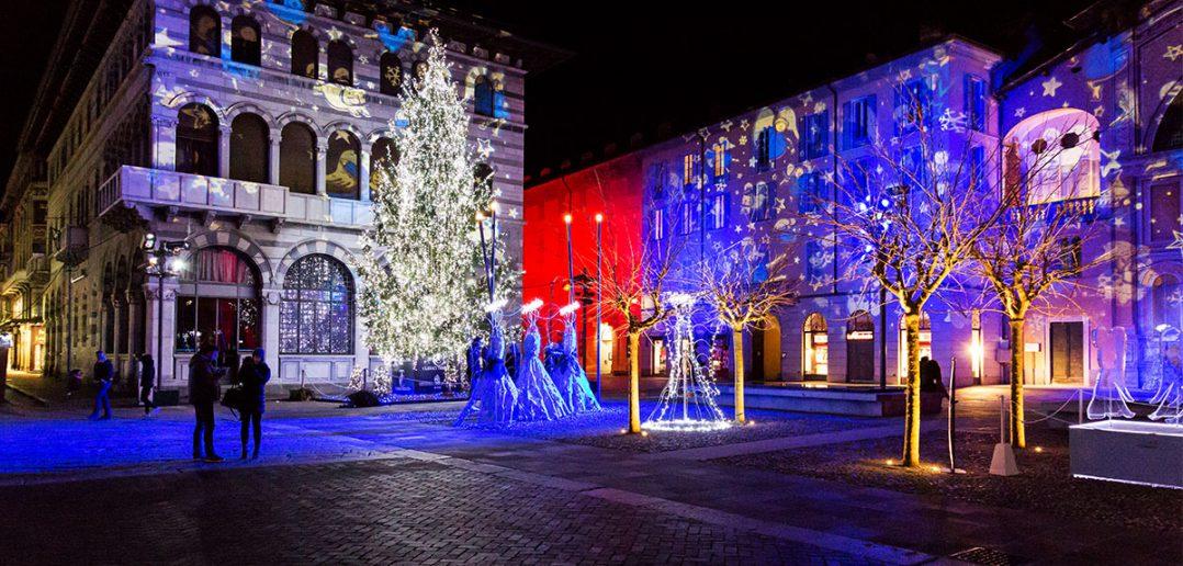 Como Magic Light Festival 2016; Luci di Natale a Como