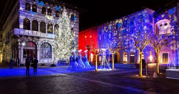 Como Magic Light Festival 2016; Luci di Natale a Como