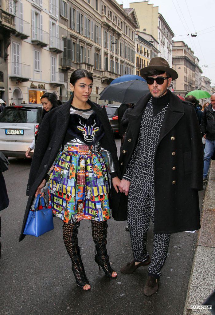Street Style settimana della moda, Milano, foto di Carlo Campi