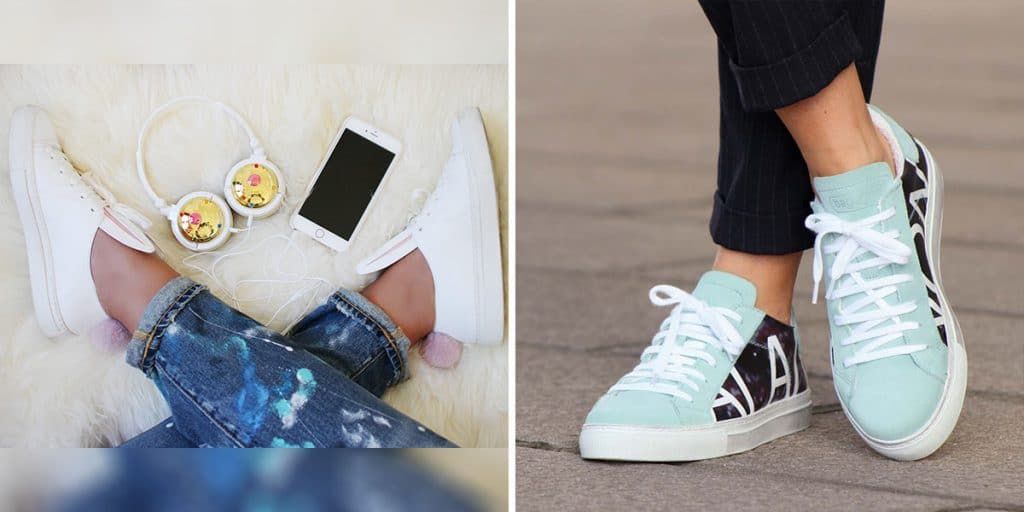 Trend - le sneakers; Ph. Credits: Fashion Snobber; Eniwhere Fashion