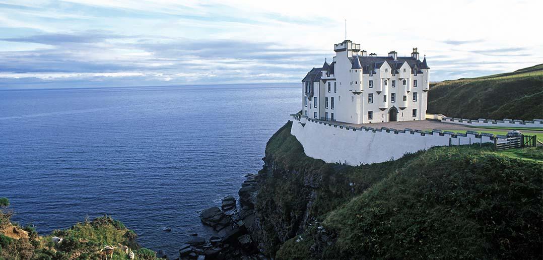 Dunbeath Castle, Scozia, Gran Bretagna