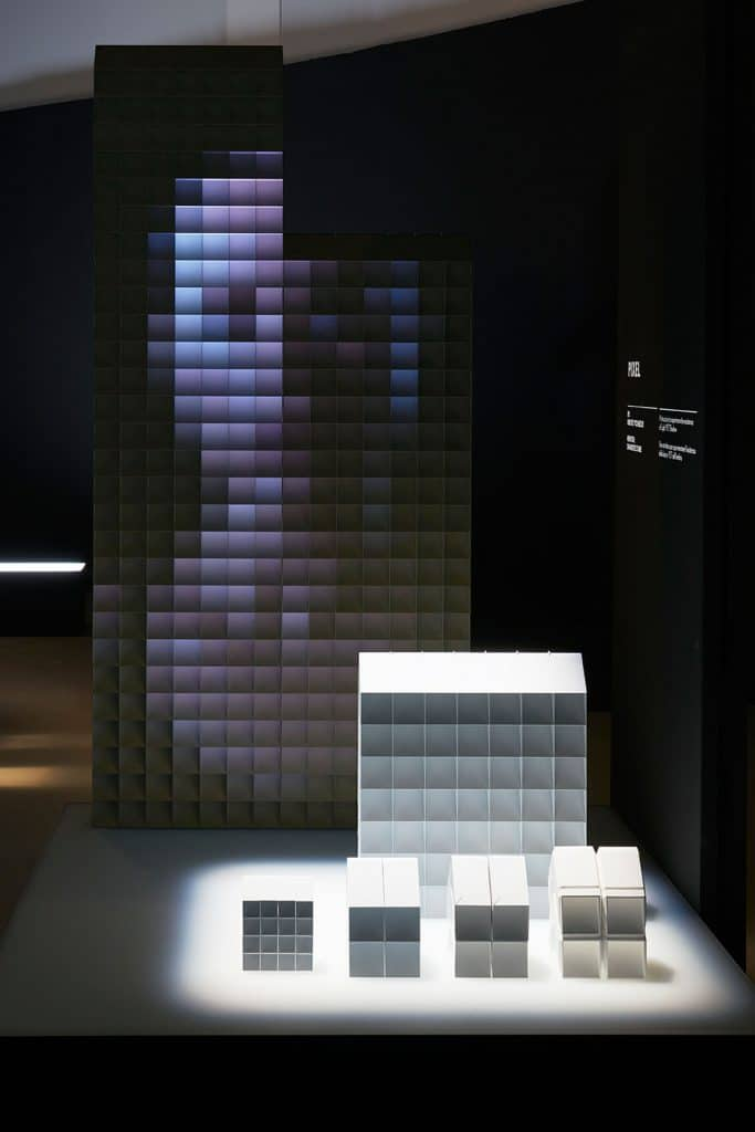 "Prototipo progetto vincitore ""Pixel"" - Courtesy of Lexus International"