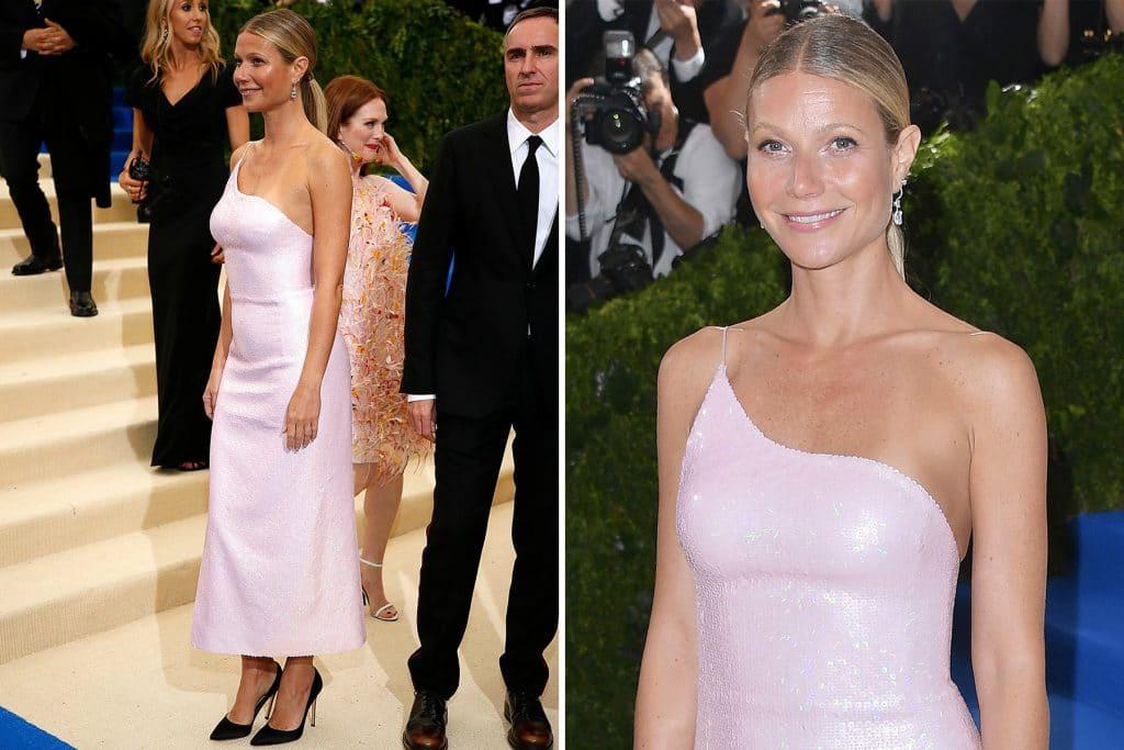 Gwyneth Paltrow in Calvin Klein