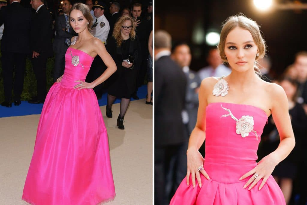Lily-Rose Depp in Chanel