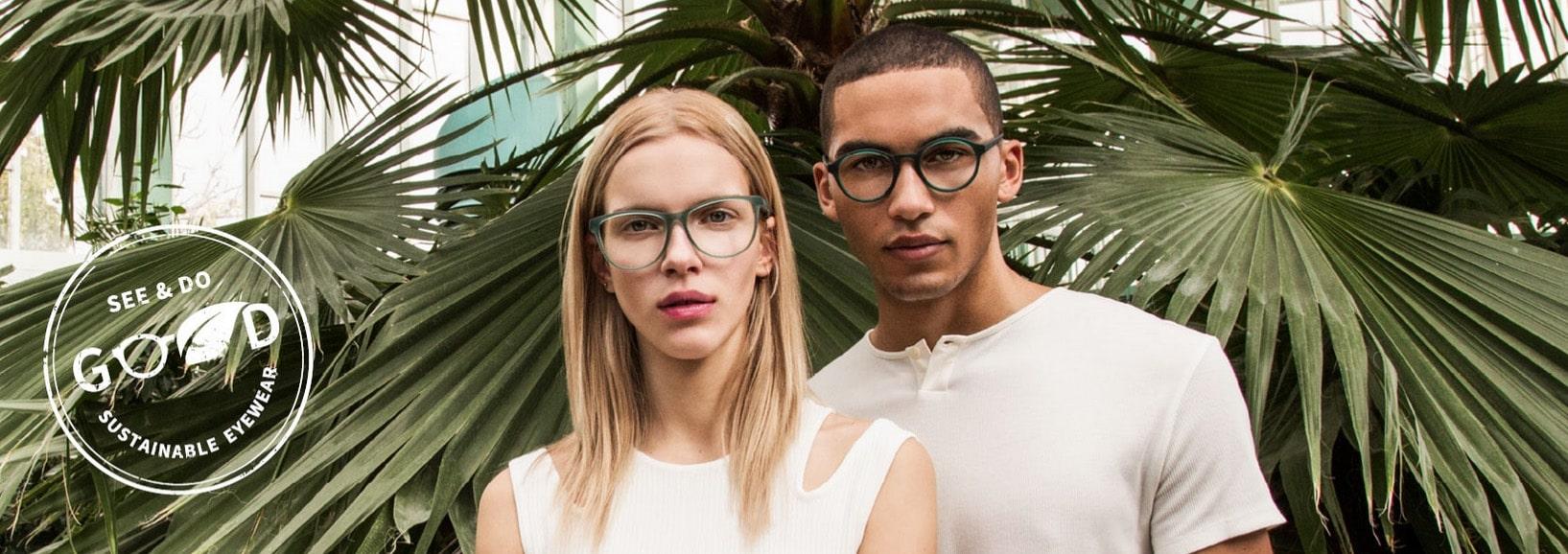 Campagna pubblicitaria Neubau Eyewear; See&Do Good