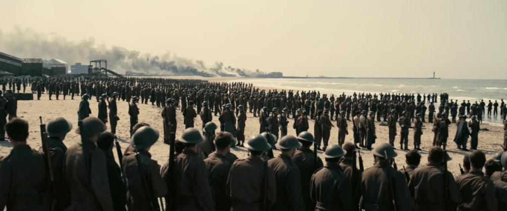 Scena dal film Dunkirk