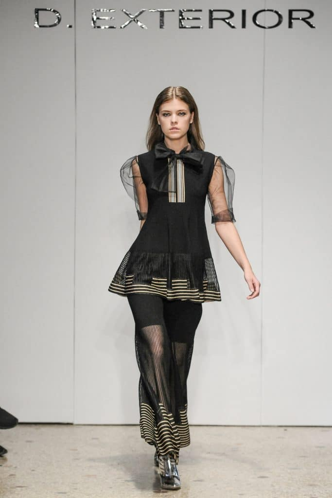 Abito sfilata D.Exterior - Milano Fashion Week Settembre 2017