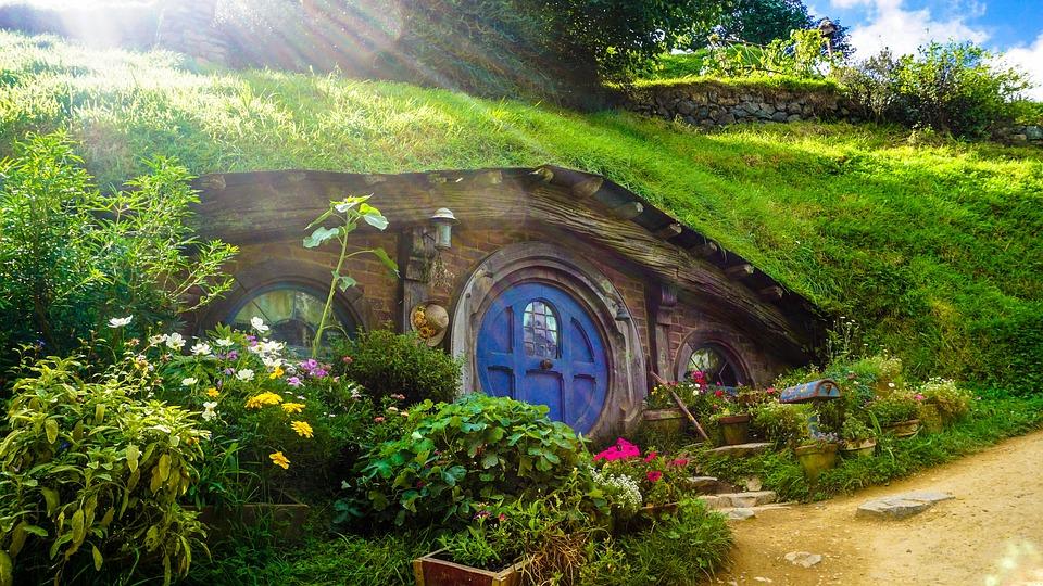 Hobbiton in Nuova Zelanda.