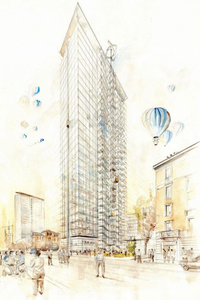 Milano Torre Galfa
