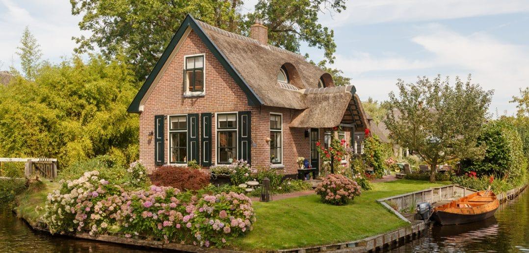 Giethoorn in Olanda