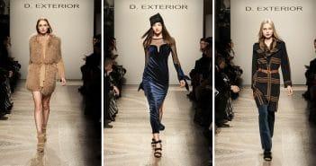 D.Exterior Fashion Show; sfilata D.Exterior Fashion Show a Milano, Palazzo Serbelloni; Milano Fashion Week FW 18/19