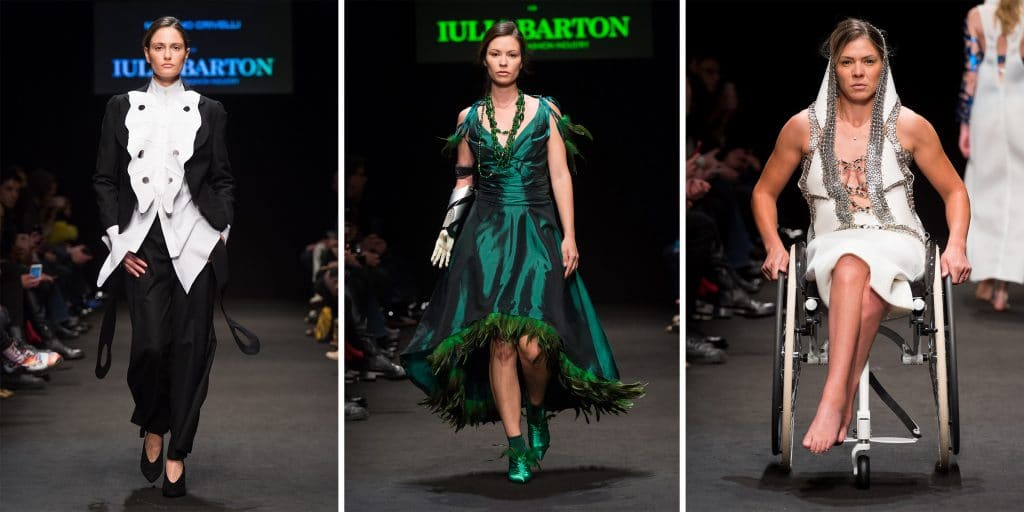 Inclusive is Exclusive by Iulia Barton; sfilata Inclusive is Exclusive a Milano, Teatro Vetra; Milano Fashion Week