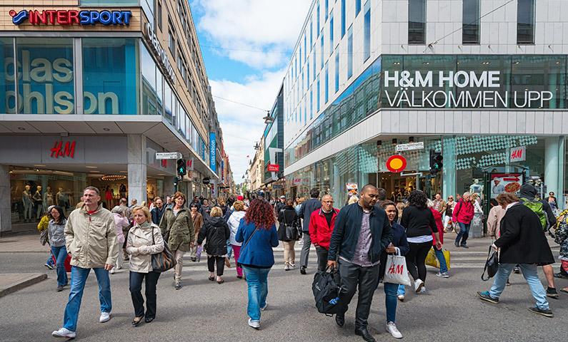 H&M - Drottninggatan street, Stockholm