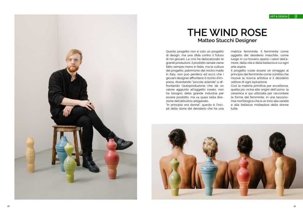 The wind rose, Matteo Stucchi Designer ; GAreview; Magazine fotografico di glamouraffair.com