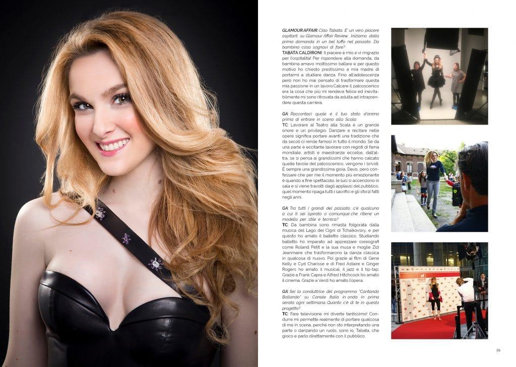 Tabata Caldironi; GAreview Aprile 2018, magazine fotografico di glamouraffair.com
