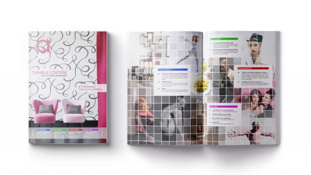 Indice GAreview Aprile 2018, magazine fotografico di glamouraffair.com; in copertina una foto di Daniele Cortese, Interior & Design Photographer