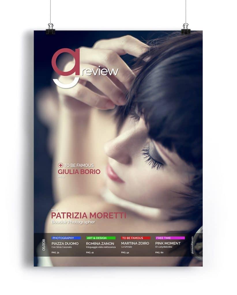 GAreview Maggio 2018, magazine fotografico di glamouraffair.com