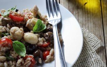 Ricette Tacchi e pentole, insalata di farro
