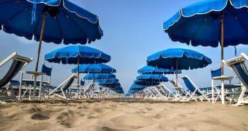 Playaya, applicazione ombrelloni spiaggia