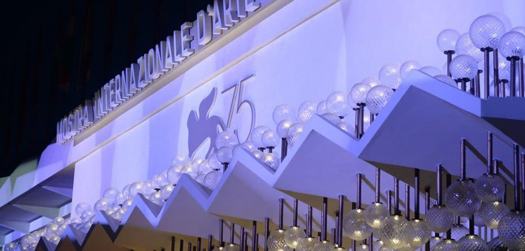 il cinema in mostra, 75 festival internazionale di arte cinematografica di venezia