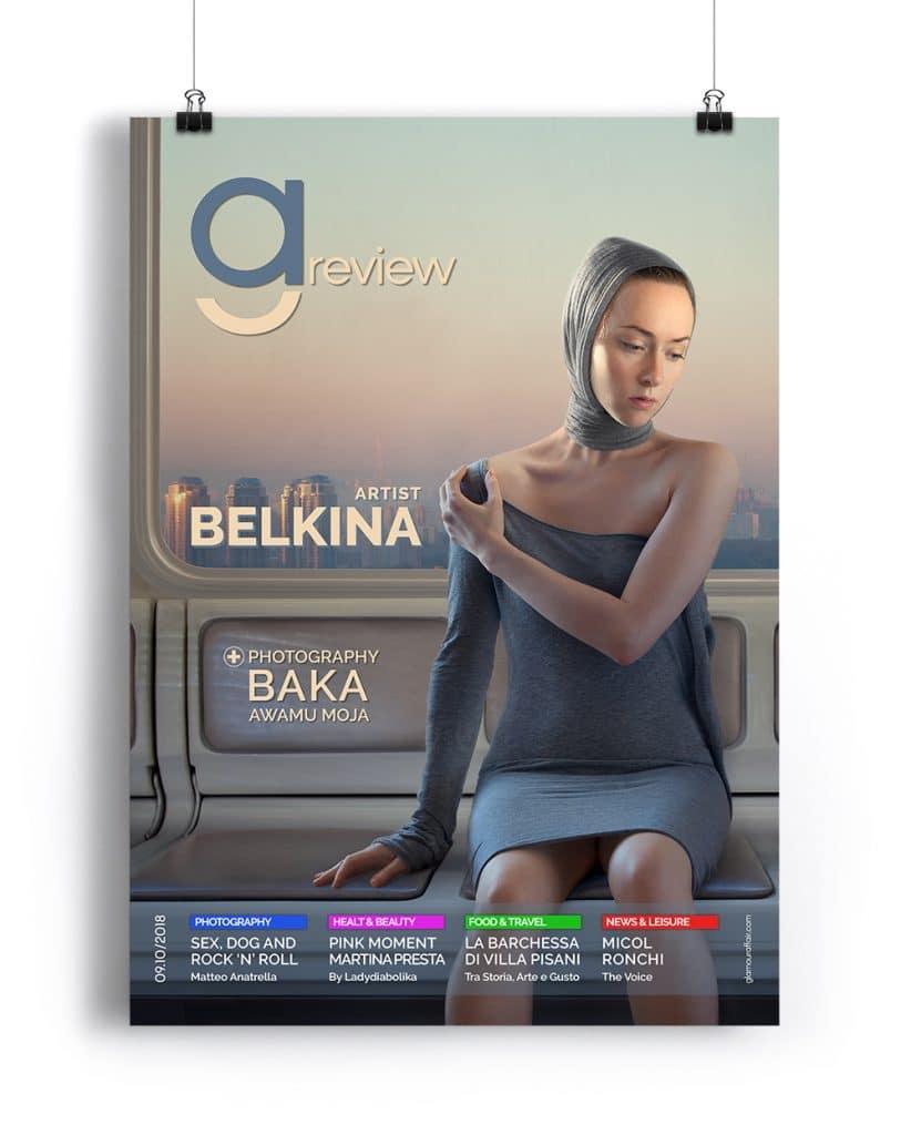 Copertina Settembre-ottobre 2018 di GAreview, Magazine online di glamouraffair.com