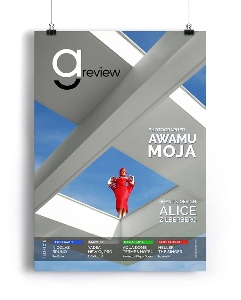 GAreview 11.12-2018, novembre-dicembre 2018, Magazine online di glamouraffair.com