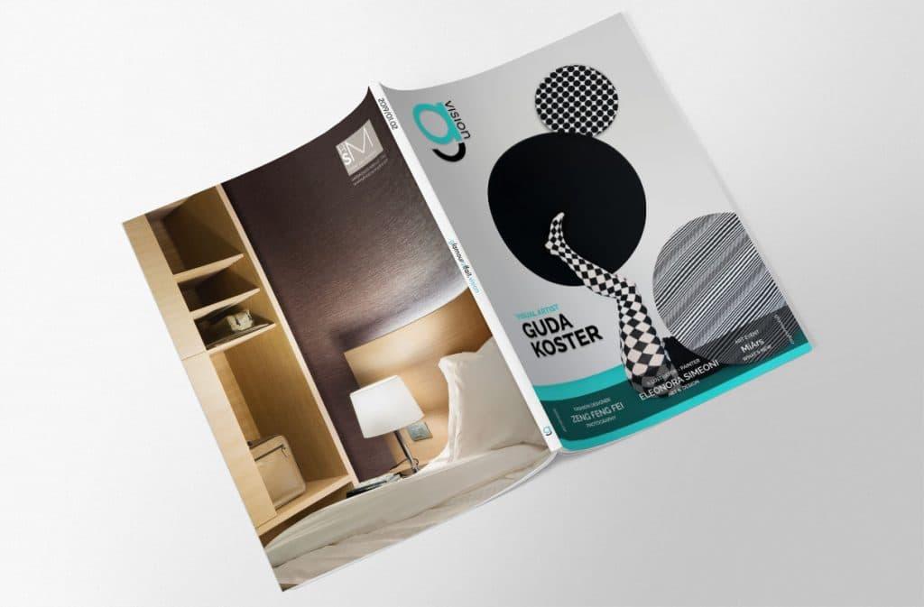 Glamouraffair Vision, Gennaio Febbraio 2019. Magazine di fotografia, arte e design di Glamouraffair.com