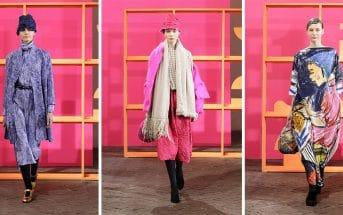 Daniela Gregis fashion show, Daniela Gregis Collection Fall Winter 2019, Milano Fashion week fall winter 2019